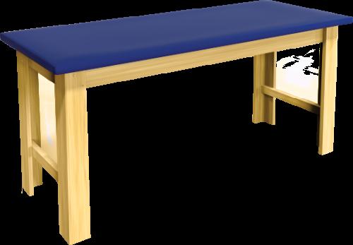 fisioterapia carci divã em madeira